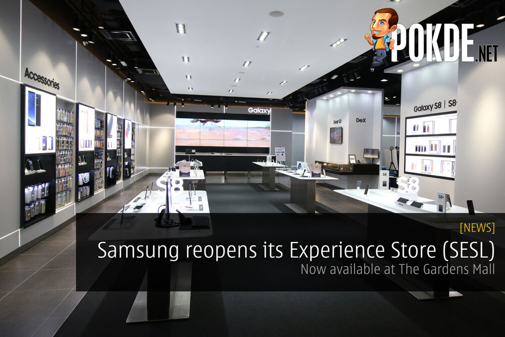 Samsung reopens its Experience Store (SESL) at The Gardens Mall 23
