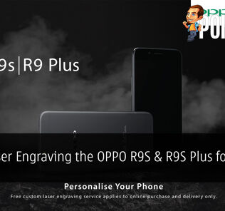 OPPO R9S Plus Laser Engraving