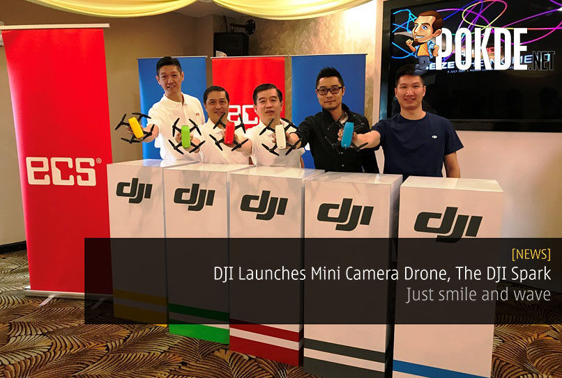 DJI Launches Mini Camera Drone, The DJI Spark - Just smile and wave 27