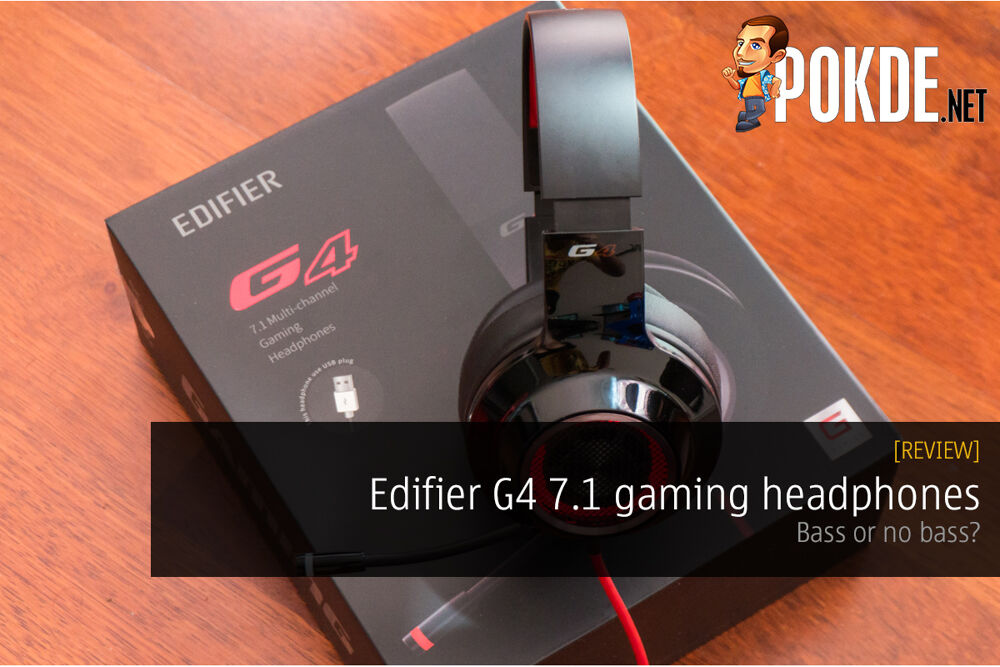 Edifier G4 7.1 gaming headphones review; bass or no bass? 26