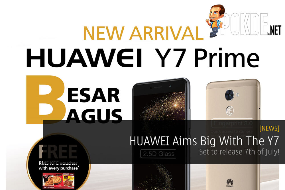 HUAWEI Aims Big With The Y7 - Set to release 7th of July! 20