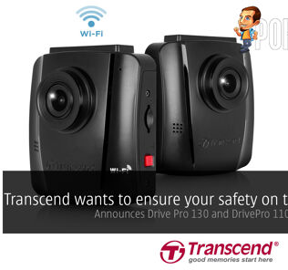 Transcend wants to ensure your safety on the road; announces Drive Pro 130 and DrivePro 110 dashcams with Sony imaging sensors 31