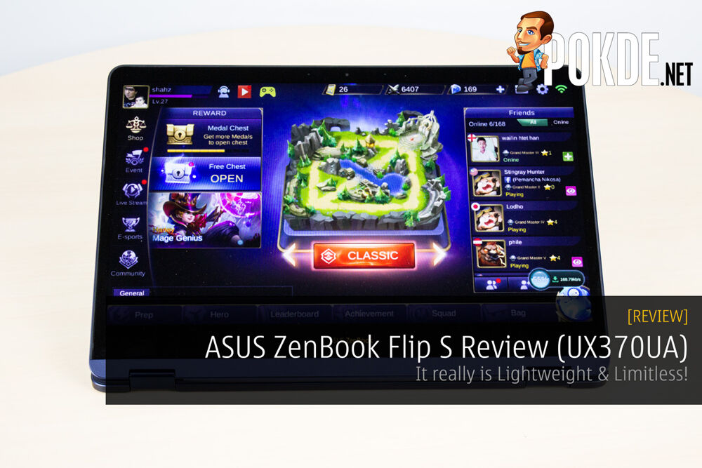 ASUS ZenBook Flip S Review (UX370UA); It really is Lightweight & Limitless! 23