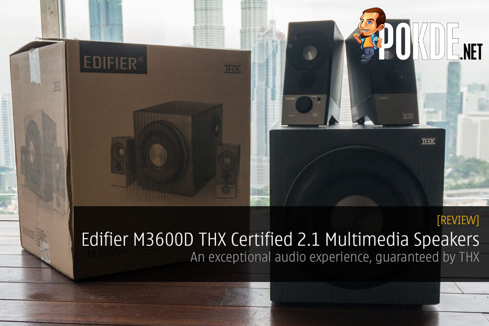 Edifier M3600D THX Certified 2.1 Multimedia Speakers review; An exceptional audio experience, guaranteed by THX 22