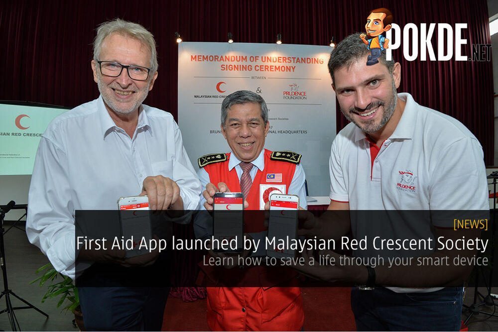 First Aid App launched by Malaysian Red Crescent Society; learn how to save a life through your smart device 16