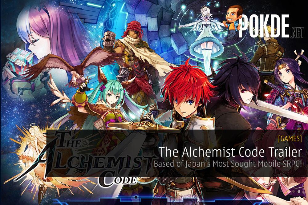 The Alchemist Code Trailer - Based of Japan's Most Sought Mobile SRPG! 24