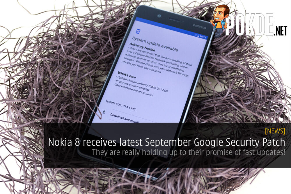 Nokia 8 receives latest September Google Security Patch; they are really holding up to their promise of fast updates! 16
