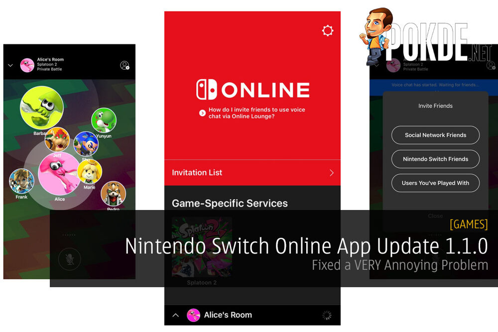 Nintendo Switch Online App 1.1.0