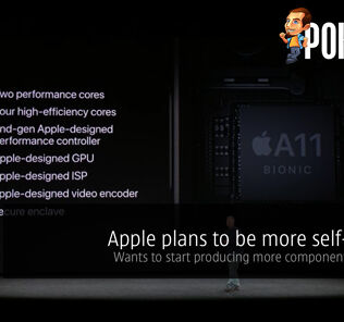Apple plans to be more self-reliant; wants to start producing more components in-house 29