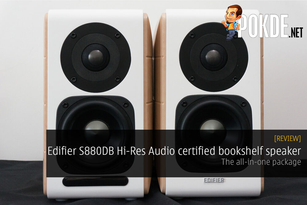 Edifier S880DB Hi-Res Audio certified bookshelf speaker review 16