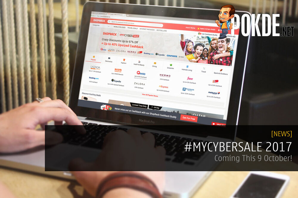 #MYCYBERSALE 2017 - Coming This 9 October! 17