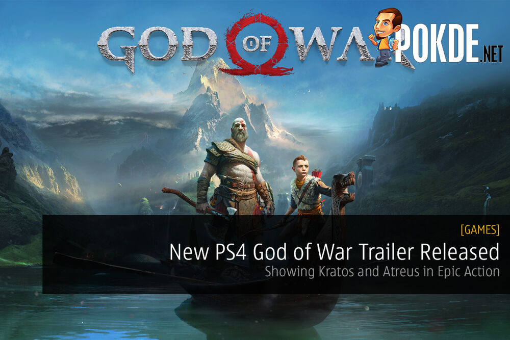 New PS4 God of War Trailer Released; Showing Kratos and Atreus in Epic Action 20