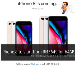 iPhone 8 to start from RM3649 for 64GB variant; so expensive Apple is offering you help to buy it 27