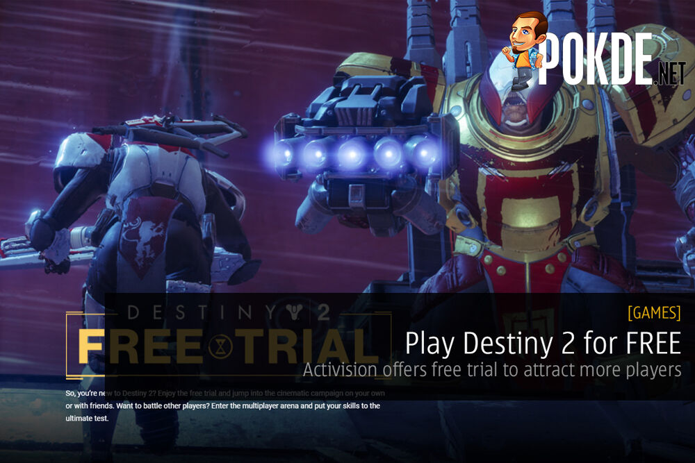 Play Destiny 2 for FREE; Activision offers free trial to attract more players 20