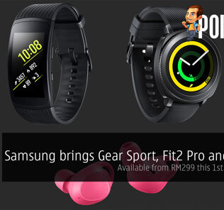 Samsung brings Gear Sport, Fit2 Pro and IconX; available from RM299 this 1st December! 25