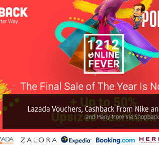 Get Exclusive Lazada Vouchers, Cashback From Nike and Taobao and Many More Via ShopBack This 12.12! 27