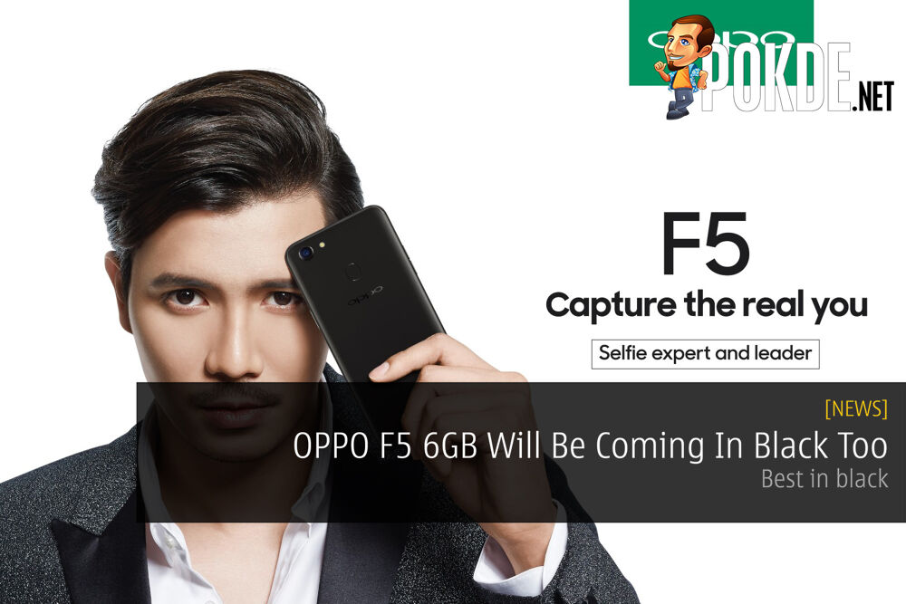 OPPO F5 6GB Will Be Coming In Black Too - Best in black 23