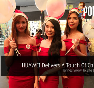 HUAWEI Delivers A Touch Of Christmas - Brings Snow To Life In Malaysia 21
