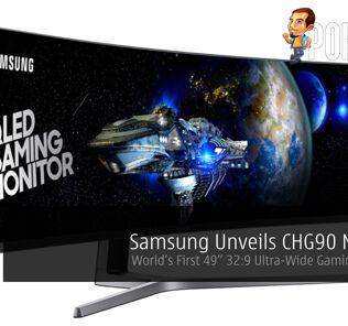 "Samsung Unveils CHG90 Monitor - World's First 49"" 32:9 Ultra-Wide Gaming Monitor! 25"