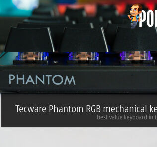Tecware Phantom RGB mechanical keyboard review; best value keyboard in the market? 21
