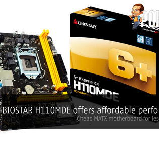 BIOSTAR H110MDE offers affordable performance; cheap MATX motherboard for less than $60! 25