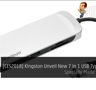 [CES2018] Kingston Unveil New 7 in 1 USB Type C Hub; Specially Made For Mac! 28