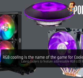 [CES2018] RGB cooling is the name of the game for Cooler Master; latest coolers to feature addressable RGB LED illumination 26