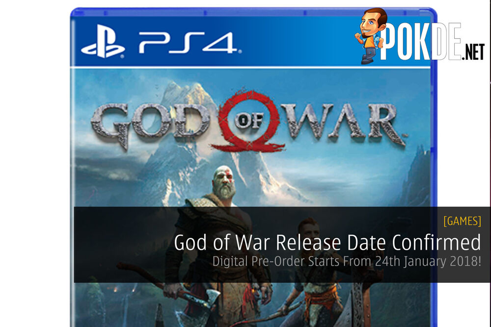 God of War Release Date Confirmed ; Digital Pre-Order Starts From 24th January 2018! 24
