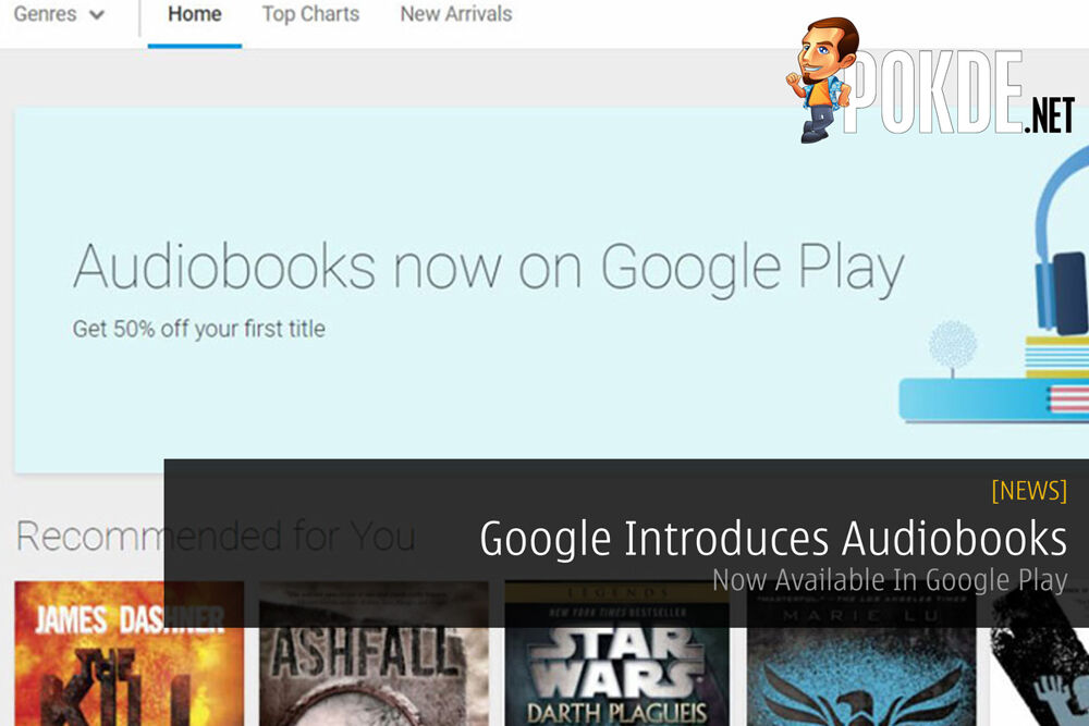 Google Introduces Audiobooks - Now Available In Google Play 19