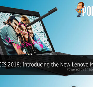 [CES 2018] Introducing the New Lenovo Miix 630