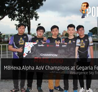 M8Hexa.Alpha AoV Champions at Gegaria Fest 2018 - AOV Valor Cup champions Resurgence Sky finishes third 20