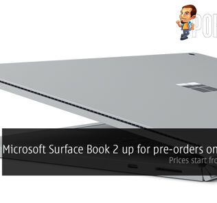 Microsoft Surface Book 2 up for pre-orders on Lazada; prices start from RM6899 30