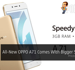 All-New OPPO A71 Comes With Bigger Storage - Priced At RM699! 51