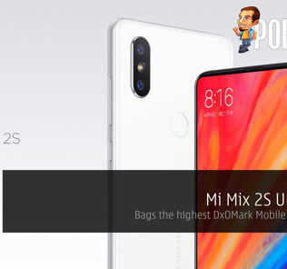 Mi Mix 2S Unveiled - Bags the highest DxOMark Mobile score ever! 27