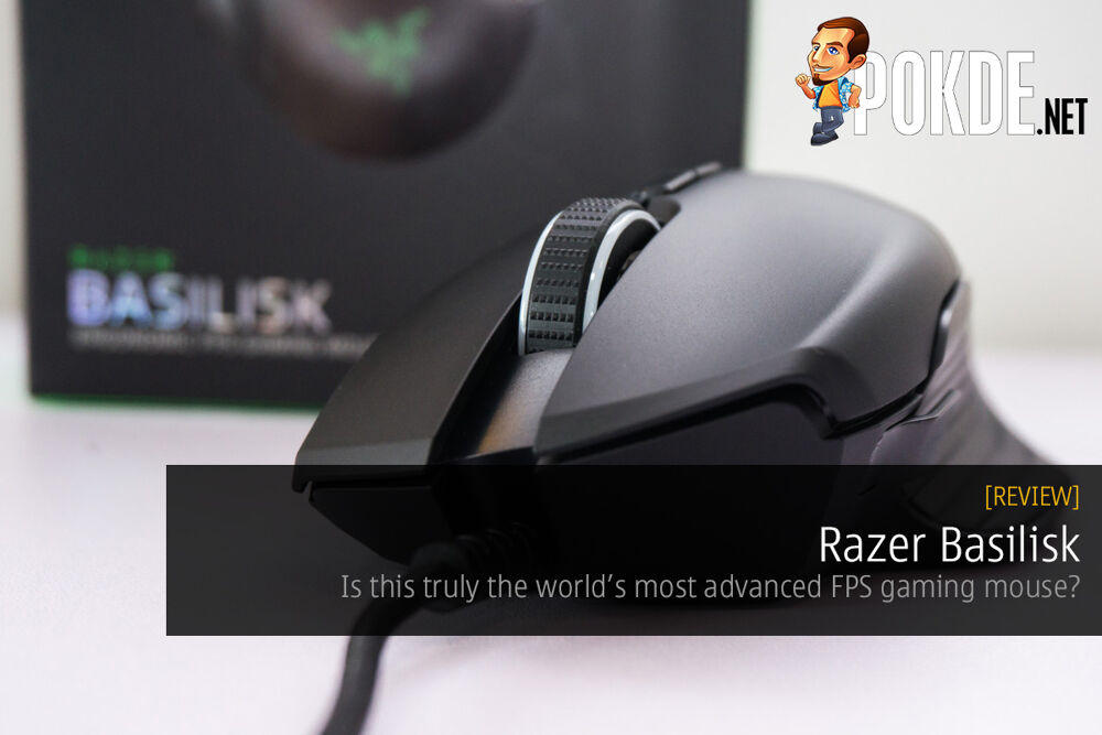 Razer Basilisk FPS Gaming Mouse review — is this truly the world's most advanced FPS gaming mouse? 29