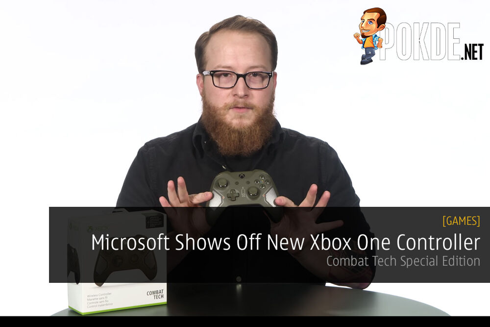 Microsoft Shows Off New Combat Tech Xbox One Controller