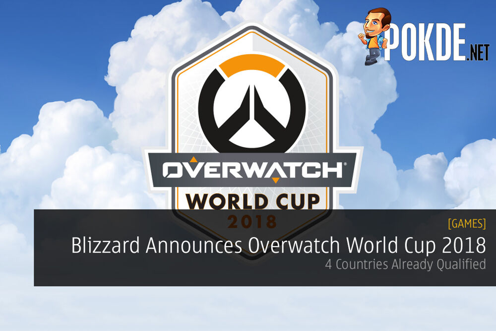 Blizzard Officially Announces the Overwatch World Cup 2018