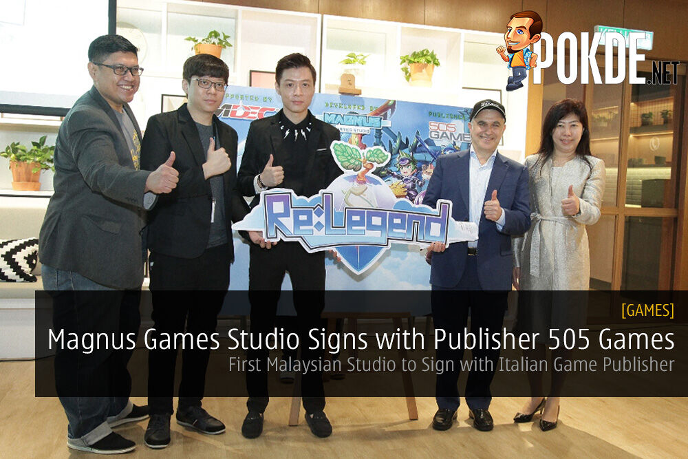 First Malaysian Studio to Sign with Italian Game Publisher
