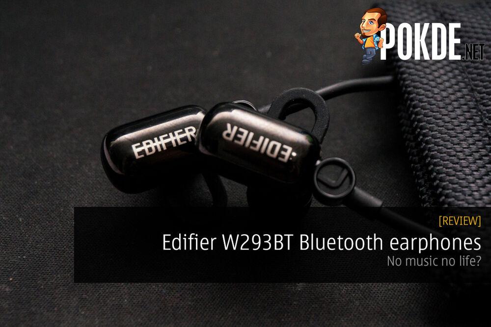 Edifier W293BT Bluetooth earphones review — no music no life? 16