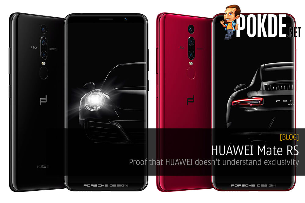 HUAWEI Mate RS — Proof that HUAWEI doesn't understand exclusivity 20
