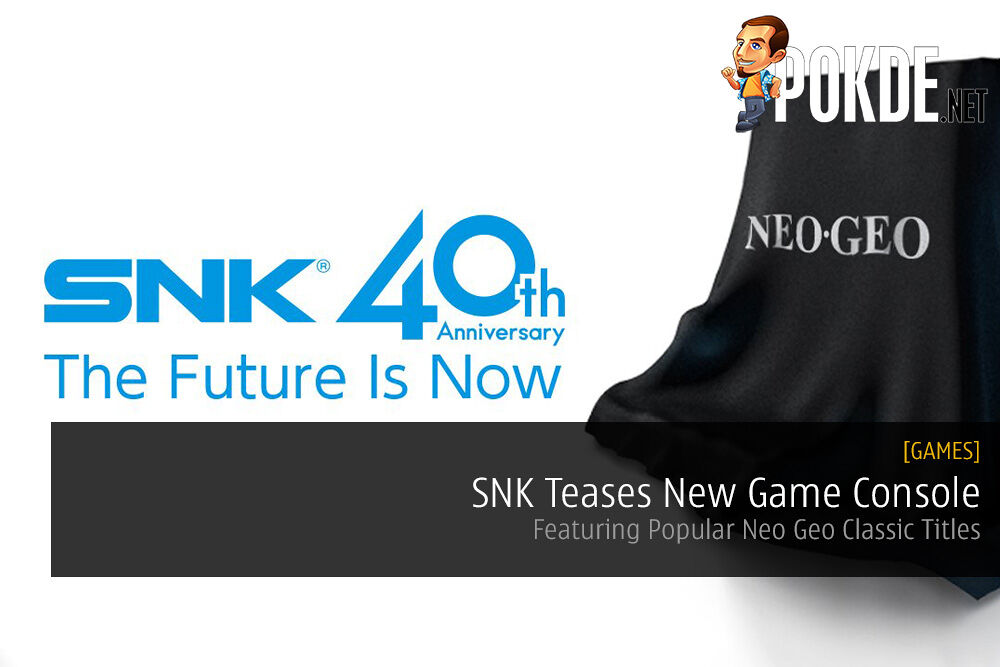 SNK Teases New Game Console Featuring Neo Geo Classic Titles