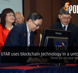 UTAR uses blockchain technology in a unique way — these are not your elders' scrolls! 28