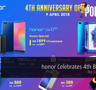 honor Celebrates 4th Birthday - Big Sales Awaits! 26