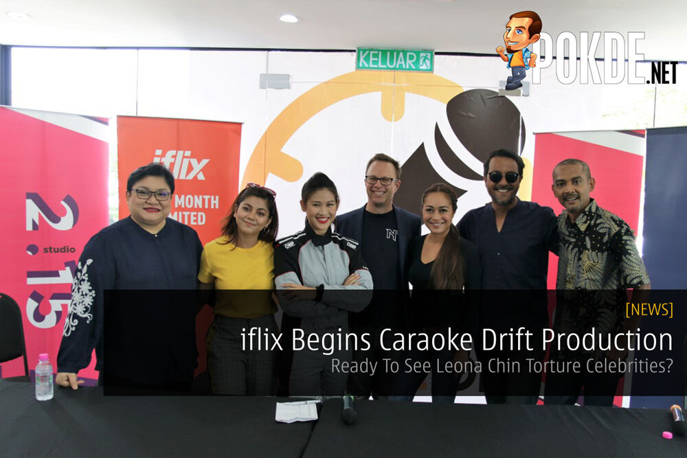 iflix Begins Caraoke Drift Production - Ready To See Leona Chin Torture Celebrities? 22
