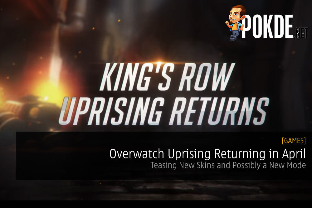 Overwatch Uprising Returning in April - Teasing New Skins and Possibly a New Mode 22