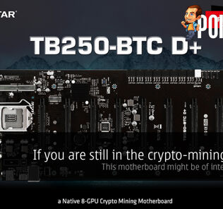 If you are still in the crypto-mining game, this motherboard might be of interest to you 21