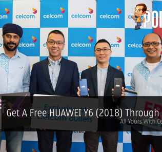 Get A Free HUAWEI Y6 (2018) Through Celcom - All Yours With Celcom FIRST 27