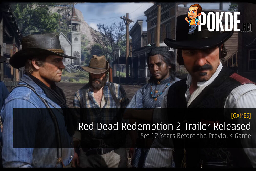 Red Dead Redemption 2 Trailer Released