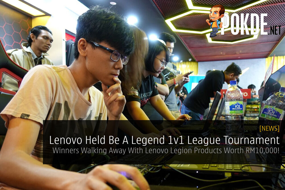 Lenovo Held Be A Legend 1v1 League Tournament — Winners Walking Away With Lenovo Legion Products Worth RM10,000! 19