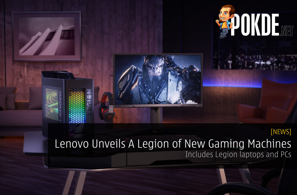 Lenovo Unveils A Legion of New Gaming Machines - Includes Legion laptops and PCs 19